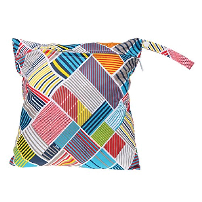 SONONIA 防水 再利用可能 赤ちゃん ジッパー おむつ袋 ウェット ドライ 水泳 トラベル トート バッグ 収納バッグ 全11色 選べる - #10