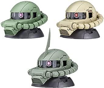 機動戦士ガンダムEXCEED MODEL ZAKU HEAD 5 -エクシードモデル ザクヘッド5- (BOX) 9個入