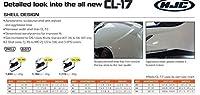 HJC CL-17 Matte Black Full Face Motorcycle Helmet - 3X-Large [並行輸入品]