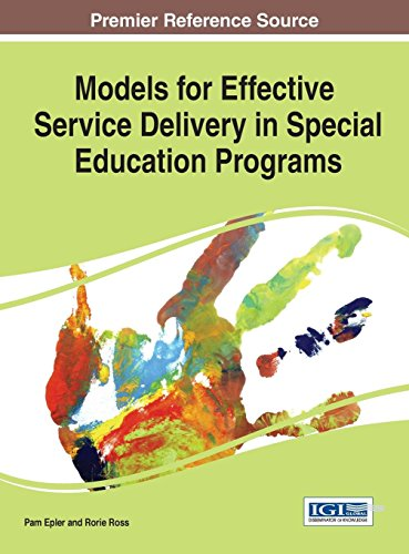 Download Models for Effective Service Delivery in Special Education Programs 1466673974
