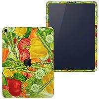 igsticker iPad Pro 11 inch インチ 対応 apple iPad Pro11 シール アップル アイパッド A1934 A1979 A1980 A2013 iPadPro11 全面スキンシール フル 背面 側面 正面 液晶 タブレットケース ステッカー タブレット 保護シール 人気 野菜 イラスト 模様 グリーン 008420