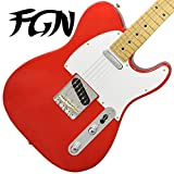 FgN フジゲン テレキャスター エレキギター J-Classic JTL6M CAR(キャンディアップルレッド) 【日本製】