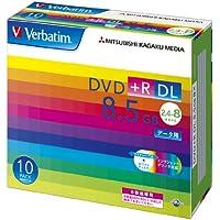 三菱ケミカルメディア Verbatim 1回記録用 DVD+R DL DTR85HP10V1 (片面2層/2.4-8倍速/10枚)