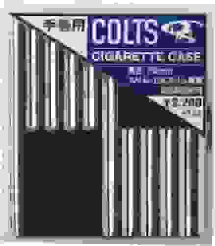 COLTS(コルツ) タバコケース スリム・EXスリム用 20本収納 ブラック CO-CASEBN
