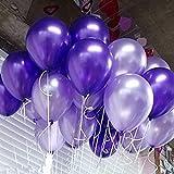 紫風船 10インチラテックス風船 バルーン パーティー お誕生日会 結婚式 飾り付け