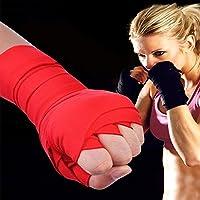 Saflyse ボクシング用品 手首のストラップ キックボクシング用 バンテージ サポーター 拳を保護 弾性包帯