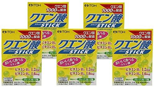 井藤漢方 製薬 クエン酸スティック (2gX30袋)×5個セット 約75日分