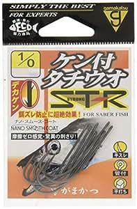 がまかつ(Gamakatsu) バラ ケン付タチウオ ST-R(ナノスムースコート) #1/0.