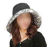 UVカットキャップ 女性用サンハット 花びら 夏 日焼け止め ビーチハット