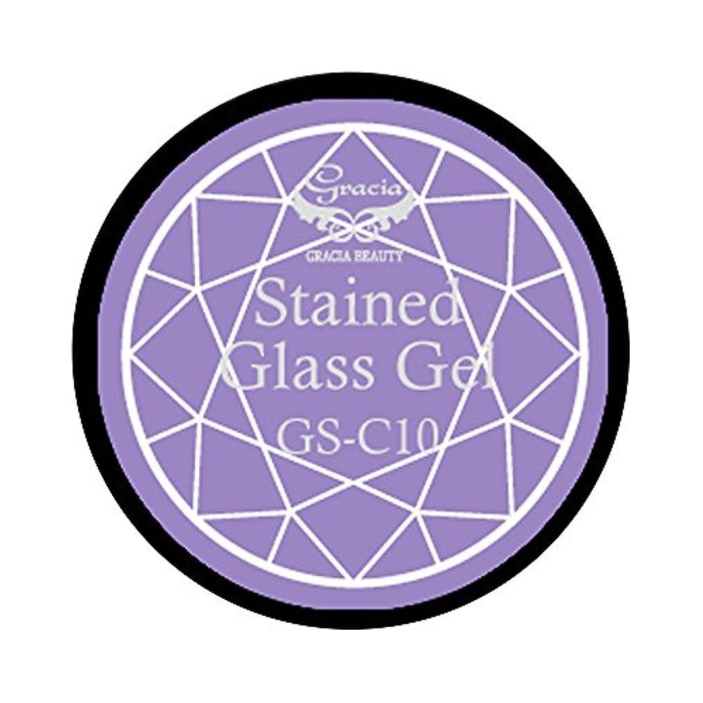 狂信者自転車箱グラシア ジェルネイル ステンドグラスジェル GSM-C10 3g  クリア UV/LED対応 カラージェル ソークオフジェル ガラスのような透明感