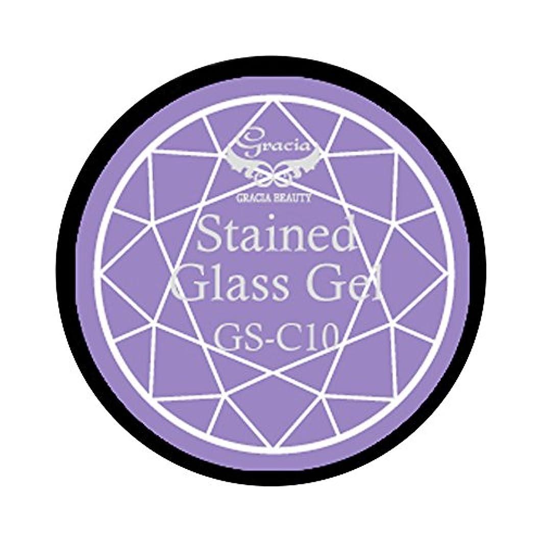 失業助手スプリットグラシア ジェルネイル ステンドグラスジェル GSM-C10 3g  クリア UV/LED対応 カラージェル ソークオフジェル ガラスのような透明感