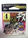 ささめ針(SASAME) WK-07Wケン付チヌ(オキアミ) 4