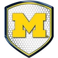 Caseys 8162062935 Michigan Wolverines Shield Style Reflector