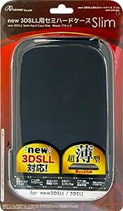 new 3DSLL用 セミハードケース スリム ブラック