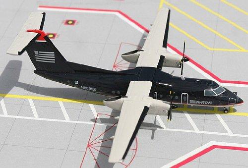 1: 200 ジェミニジェット US 航空 エクスプレス Dash 8-100 Dark Blue Colors (並行輸入)
