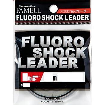 ヤマトヨテグス(YAMATOYO) リーダー フロロショックリーダー フロロカーボン 30m 0.6号 2lb クリア