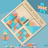 goupgolboll-3-in-1木製テトリスタングラム番号パズルジグソーパズル子供教育玩具