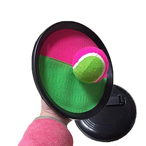 Careshine キャッチボール キャッチボールゲーム ストレス解消 屋内 屋外 玩具 お手軽 スポーツ アウトドア ビーチ ガーデン プール おもちゃ ボール1個付き