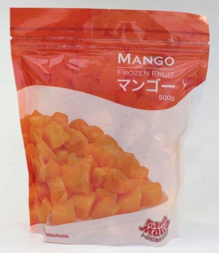 冷凍フルーツ  トロピカルマリア マンゴ-、グレ−プ、ブル−ベリ−(冷凍)各1袋(500g)