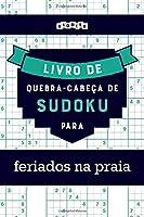 Livro de quebra-cabeças de Sudoku para feriados na praia