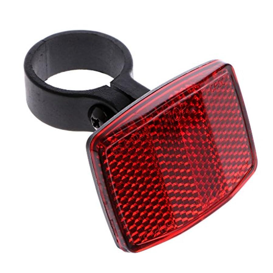減らすドラゴンタールManyao 自転車バイクハンドルバー反射器反射フロントリア警告ライト安全レンズミラー ハンドル