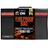 The Good Stuff Fireproof Waterproof Document Storage Bags (2000℉), Protect Important Documents from House Fires, Hurricanes,