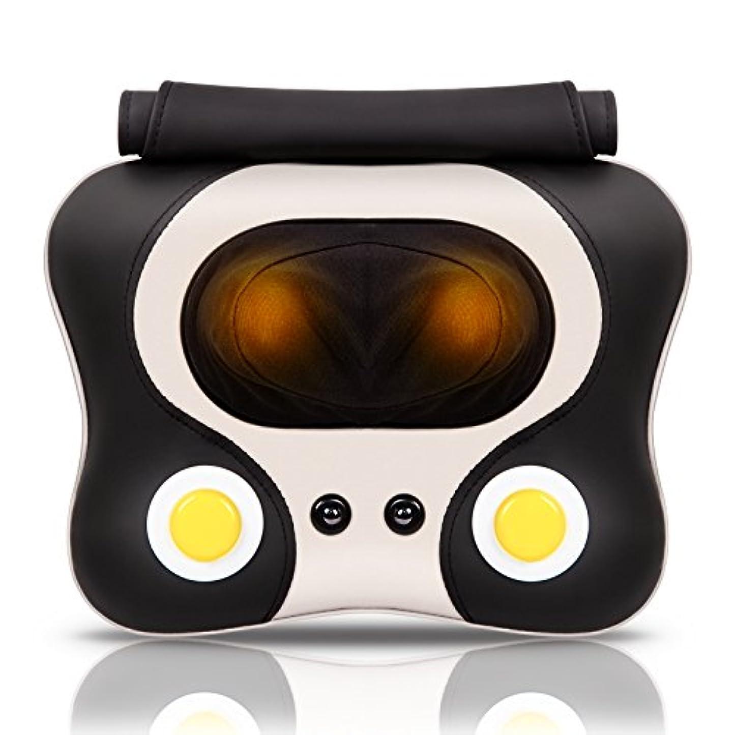 リングバックシンジケート綺麗なHAIZHEN マッサージチェア 全身用マッサージピロー電動ネックマッサージ混和指圧マッサージ(3色) (色 : B)