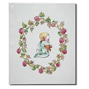 1歳 誕生日プレゼント  オリジナル絵本 ギフトセット  「赤ちゃん誕生」 (つや消し紺のクラフト紙でのラッピング)