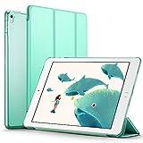 iPad Pro 9.7 ケース クリア ESR iPad Pro 9.7 カバー レザー PU スタンド機能 スリム傷つけ防止 オートスリープ ハード 三つ折タイプ iPad Pro 9.7 インチ スマートカバー (ミントグリーン)