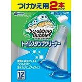 スクラビングバブル トイレ洗浄 トイレスタンプクリーナー フレッシュソープの香り 付替用2本セット 38g×2本