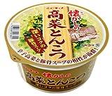 ヤマダイ ニュータッチ 懐かしの高菜とんこつ 79g×12個