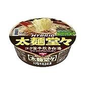 日清 HYBRID太麺堂々 コク旨牛炊き白湯 113g×12個
