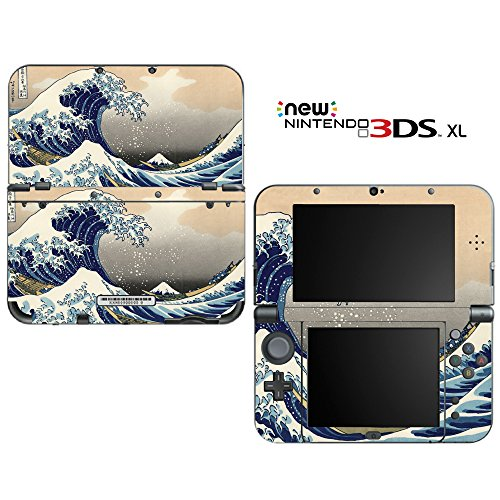 New ニンテンドー 3DSLL スキンシール AT48/浮世絵風景画 new3DS LL