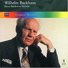 W.バックハウス独奏 ベートーヴェン:ピアノソナタ全集(8枚組)のAmazonの商品頁を開く