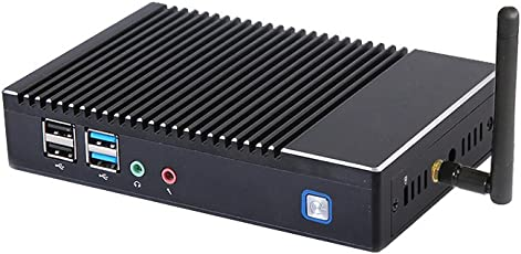 【SSD 64GB】【メモリ4GB】【Win 10 Pro搭載】【ブラケット】 skynew 小型パソコン ミニPC 静音 M2S (低電力AMD A6-1450/4GB/64GB/AMD Radeon HD8250/高速Wi-Fi&Bluetooth 4.0対応/USB 3.0/豊富なインターフェースを搭載)