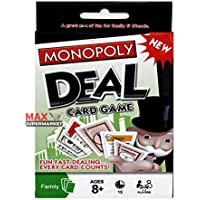 Monopoly Deal Card Game (英語言語)香港&中国City + Max Supermarket 5 % Savingsクーポン