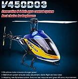 ラジコン ヘリコプター ワルケラV450D03 6CH  機体のみ