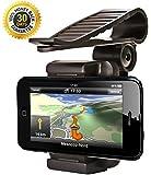 Zatous(ザータス)サンバイザー  スマートフォン ホルダー ナビ スマホ 携帯 マウント iPhone  車載ホルダー (ブラック)CH606hei