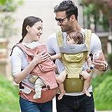 愛児寶 3in1 抱っこひも 自然前抱っこ 腰抱っこ おんぶ 最大20kg支え 調整可能 装着簡単 通気性 ベビーキャリア 0-3歳の幼児·赤ちゃんに対応(緑) (¥ 3,300)