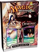 Magic the Gathering Card Game Duel Decks Divine vs. Demonic Gift Set [並行輸入品]