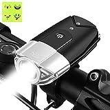 自転車ヘッドライト Otrue 自転車ライト USB充電 自転車前照灯 700ルーメン LED IP65防水 50mを照らす【一年間安心保証】