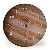 惑星クロック ウォールクロック 掛け時計 おしゃれ 壁面 ジュピター 木星