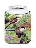 Carolines Treasures ASAD0703CC Long Tailed Tits by Sarah Adams Can or Bottle Hugger