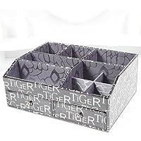WTL かご?バスケット 革の収納ボックスの家のデスクトップの破片の収納ボックス (色 : ブラック, サイズ さいず : 30*22.3*12cm)