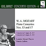 Mozart: Piano Concertos Nos. 13 & 17 by Idil Biret (2013-08-03)