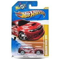Hot Wheels 2012 New Models Subaru WRX STI 33 of 50 Red with White 10 Spoke Wheels [並行輸入品]