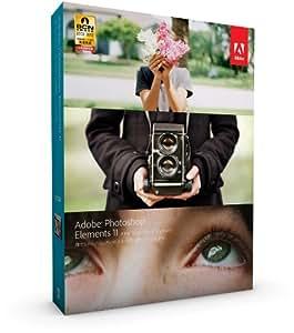 【旧製品】Adobe Photoshop Elements 11 Windows/Macintosh版 (Elements 12への無償アップグレード対象 2013/12/23まで)