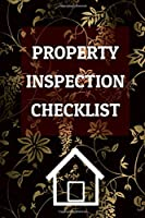 "Property Inspection Checklist - Residential Building Inspector Notebook and Journal: 100 pages - 6""x 9"" Inches Notebook For Property Inspectors, Insurance Inspection"