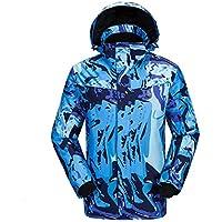 Deylaying ファッション 冬 アウトドア スポーツ 職業 スキー スノーボード ジャケット Co ?で 防水 防風 暖かい 大人用メンズ