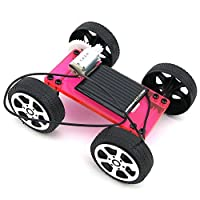 HZOTB CS3ABソーラーカースペシャルエディションモデルカーDIY手作り組み立て式ソーラーおもちゃ